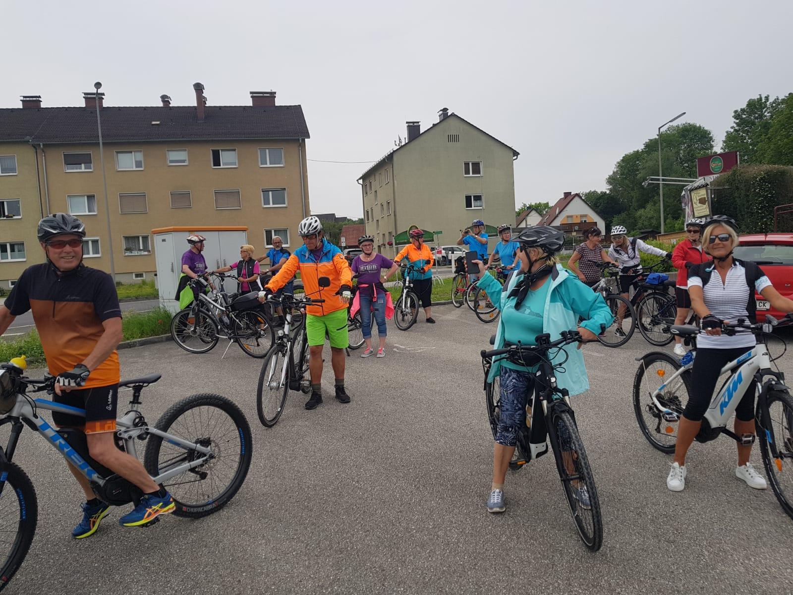 Tänzer Radausflug / Radtour